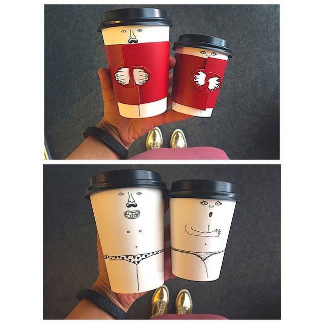 Бумажные стаканчики - karavanplastru